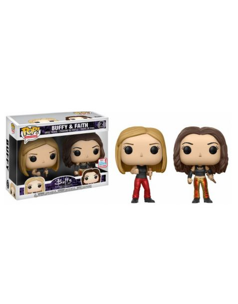 Funko Pop! Buffy - 2-Pack Buffy & Faith Exclusive NYCC 2017