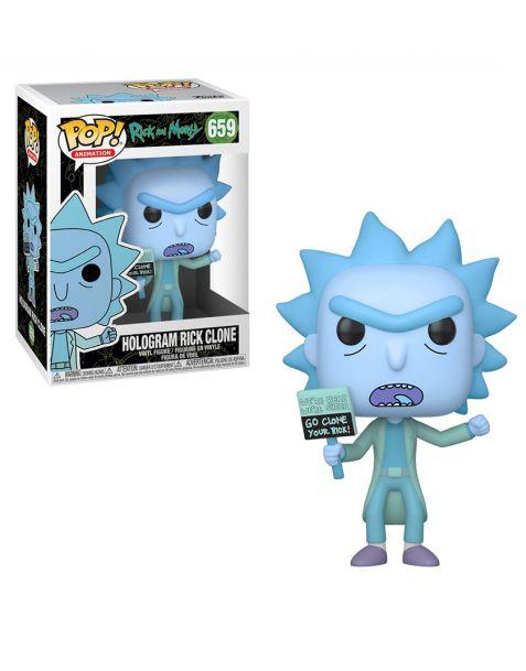 Funko Pop! Rick and Morty - Hologram Rick Clone 659