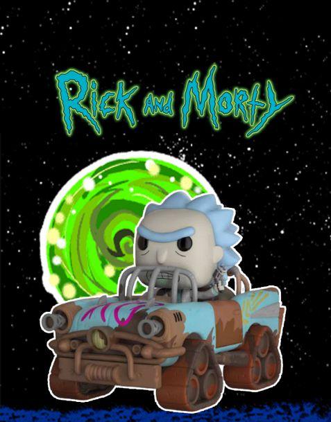 Funko Pop! Rides Rick and Morty - Mad Max Rick