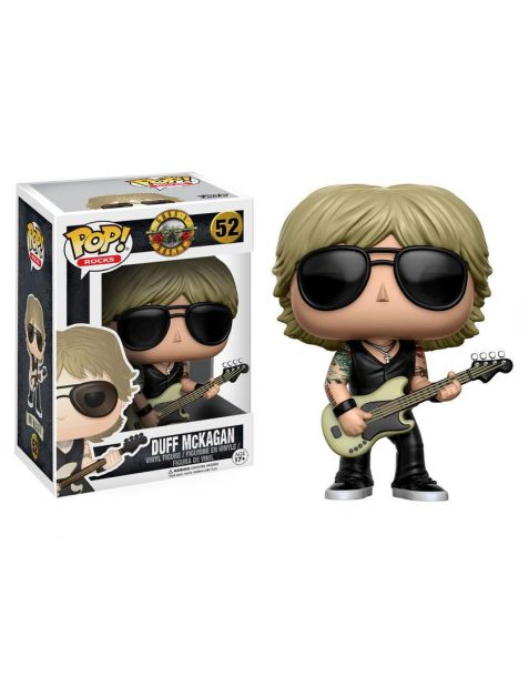 Funko Pop Rocks Duff McKagan 52