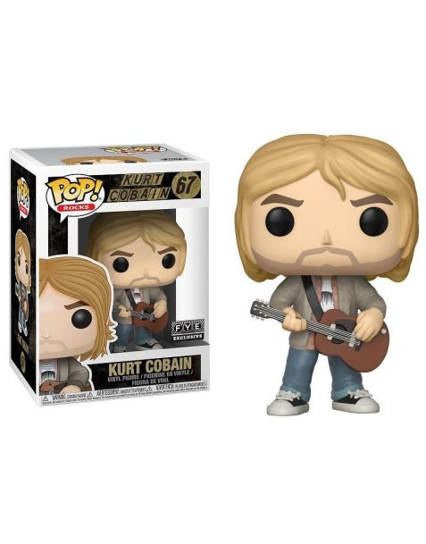 Funko Pop! Rocks - Nirvana Kurt Cobain 67 (f.y.e. exclusive)