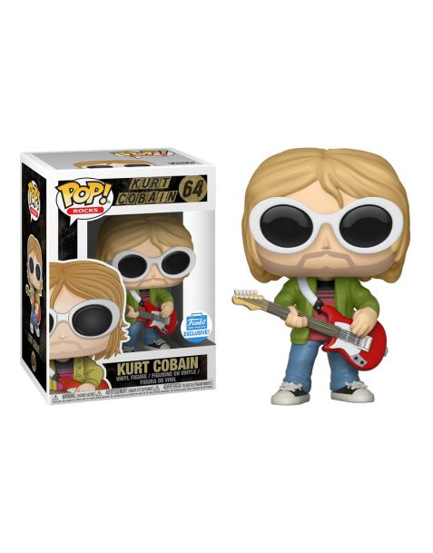 Funko Pop! Rocks - Nirvana Kurt Cobain 64 (Funko Shop Exclusive)