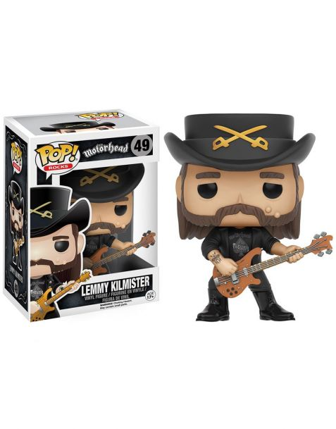 Funko Pop Rocks Lemmy Kilmister 49