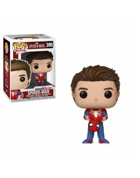 Funko Pop! Spider-Man - Unmasked Spider-Man 395