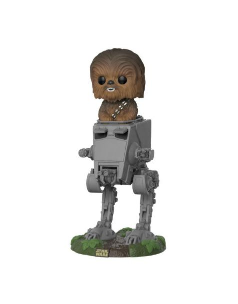 Funko Pop! Deluxe Star Wars - Chewbacca with AT-ST