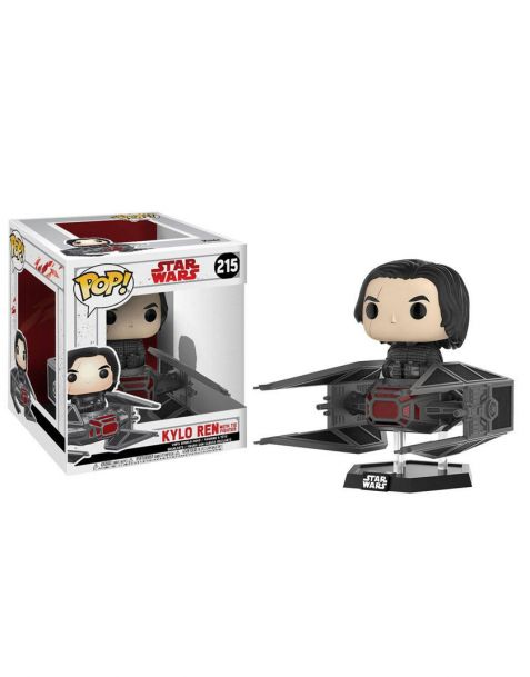 Funko Pop! Star Wars: Gli ultimi Jedi - Kylo Ren on Tie Fighter 215