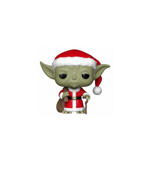 Funko Pop! Star Wars - Head Holiday Santa Yoda
