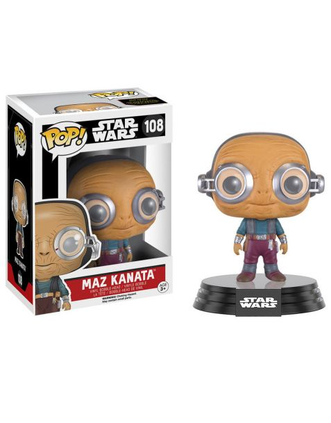 Funko Pop Star Wars Maz Kanata 108