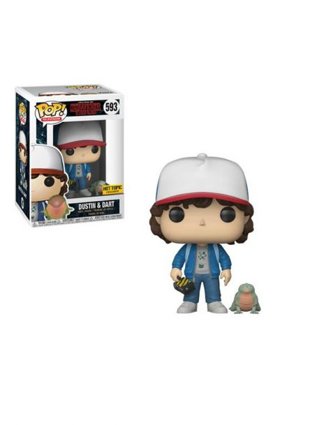 Funko Pop! Stranger Things - Dustin & Dart 593 Hottopic
