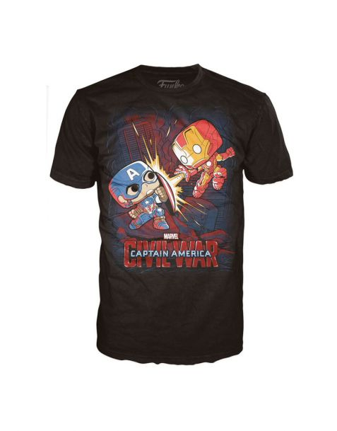 Funko Pop! T-shirt Captain America