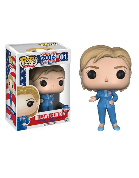 Funko Pop The Vote Hillary Clinton 01