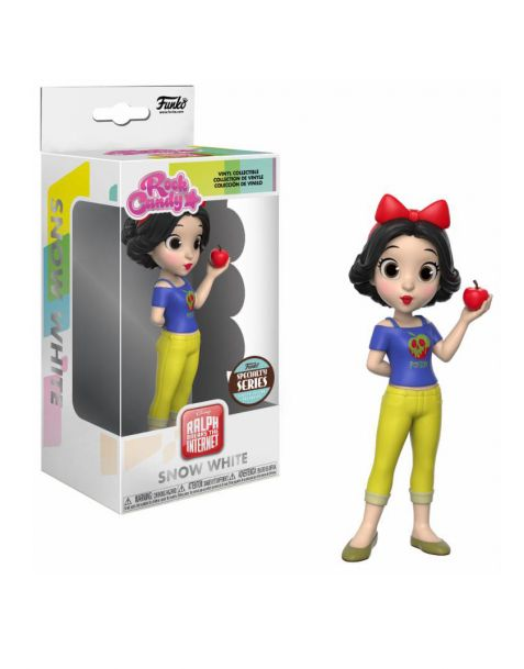 Funko Rock Candy Dinsey Ralph Breaks the Internet Rock - Snow White