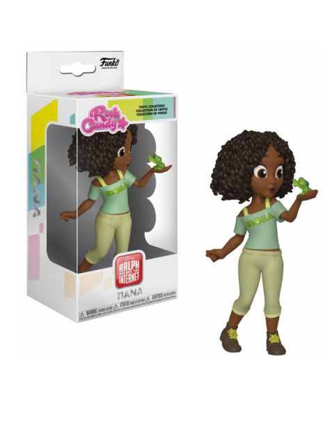 Funko Rock Candy Dinsey Ralph Breaks the Internet Rock - Tiana