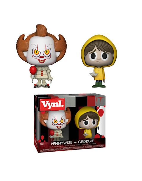 Funko Vynl Horror IT - Pennywise vs. Georgie