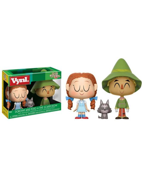 Funko Vynl The Wizard of Oz - Dorothy with Toto & Scarecrow