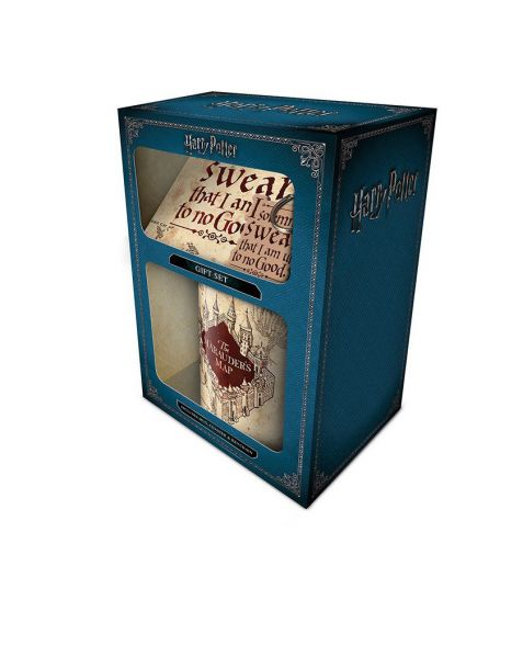 Gift Set Harry Potter (Tazza, portachiavi e sottobicchiere)