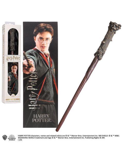 Harry Potter bacchetta e segnalibro lenticolare