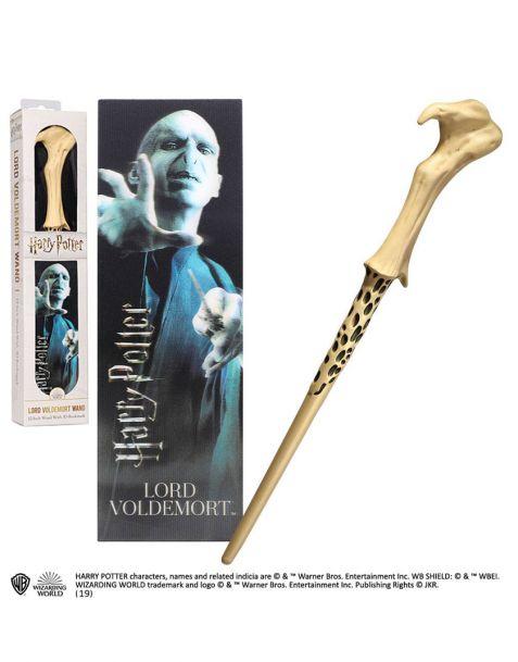 Voldemort bacchetta e segnalibro lenticolare