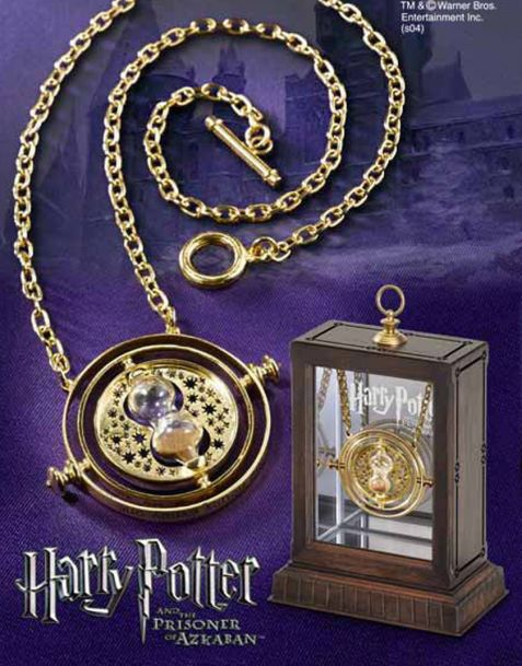 The Noble Collection Harry Potter - Collana Giratempo di Hermione