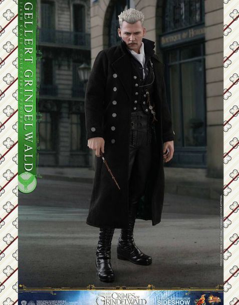 Hot Toys Fantastic Beasts the Crimes of Grindelwald Movie Masterpiece Action Figure Gellert Grindelwald