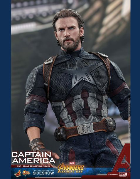 Hot Toys Avengers Infinity War Movie Masterpiece Action Figure 1/6 Captain America