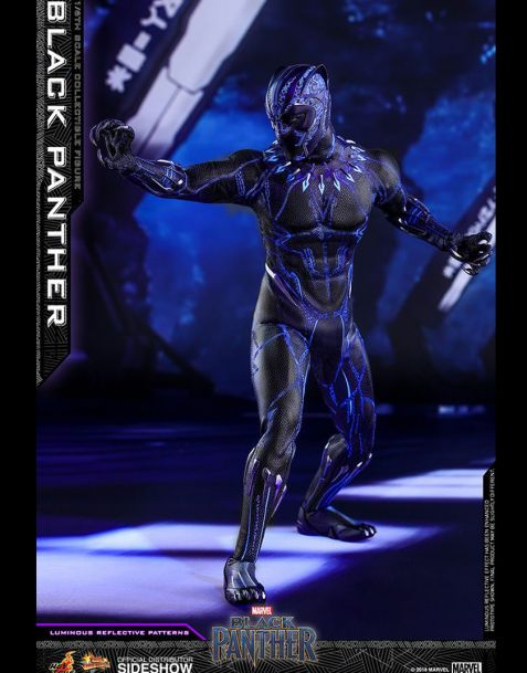 Hot Toys Black Panther Movie Masterpiece Action Figure 1/6
