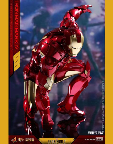 Hot Toys Iron Man 2 Diecast Movie Masterpiece - Iron Man Mark IV