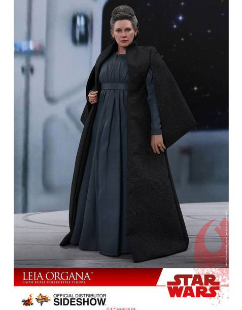 Hot Toys Star Wars Episode VIII Action Figure - Leia Organa