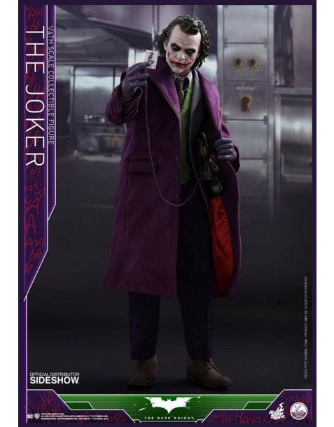 Hot Toys The Dark Knight Quarter Scale Series Action Figure 1/4 The Joker 47 cm