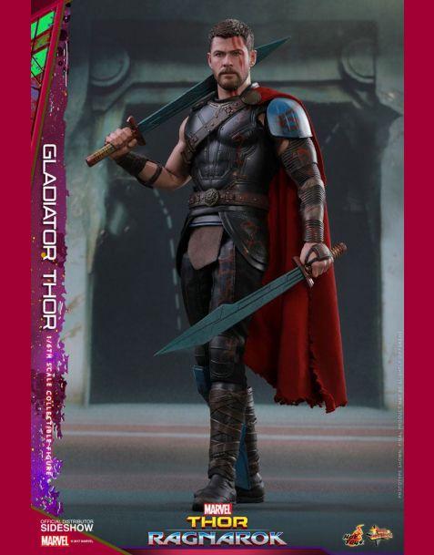 Hot Toys Thor Ragnarok Movie Masterpiece Action Figure Gladiator Thor