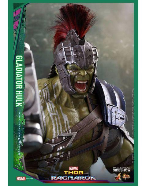 Hot Toys Thor Ragnarok Movie Masterpiece Action Figure Gladiator Hulk