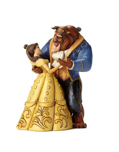 Jim Shore Disney Tradition Beauty and the Beast - Belle and Beast dancing