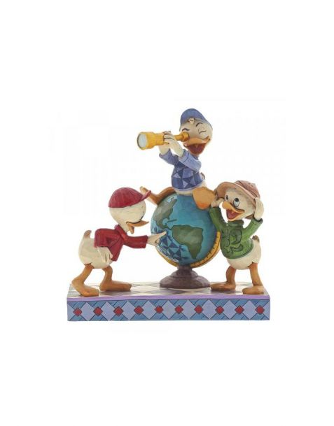 Jim Shore Disney Tradition - Huey, Dewie and Louie Ducktales