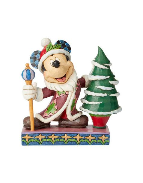 Jim Shore Disney Tradition - Mickey Mouse Father Christmas