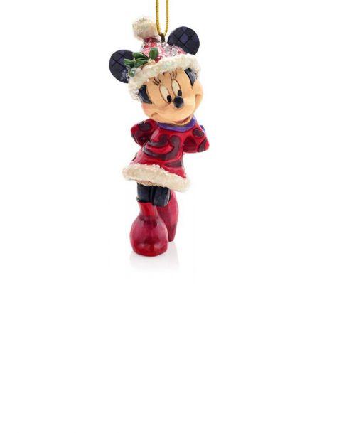 Jim Shore Natale - Decorazione Minnie Mouse