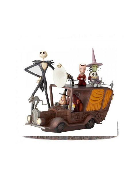 Jim Shore Disney Tradition Nightmare Mayor's Car