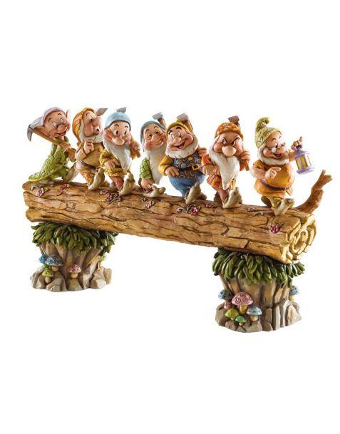 Jim Shore Disney Tradition - Homeward Bound Seven Dwarfs