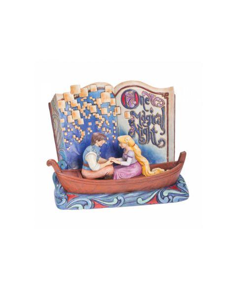 Jim Shore Disney Tradition Rapunzel One Magical Night - Storybook
