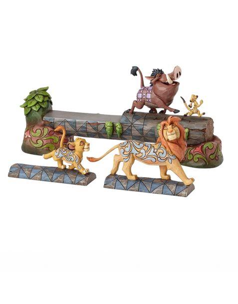 Jim Shore Disney Tradition The Lion King - Simba, Pumba & Timon