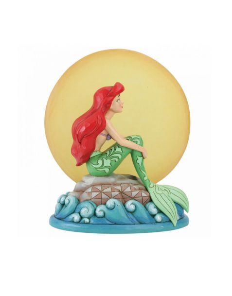 Jim Shore Disney Tradition - Ariel with Light up Moon
