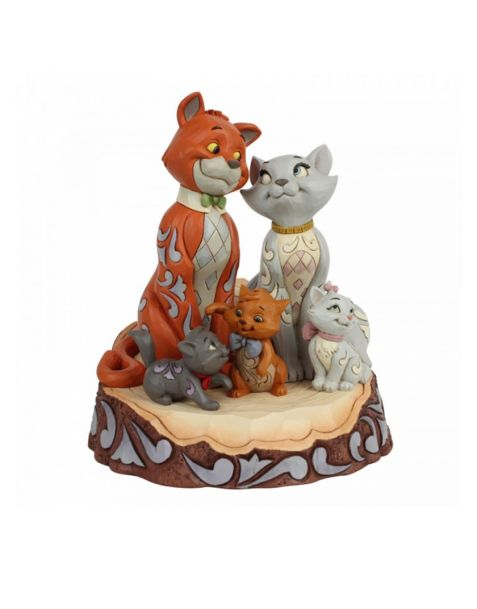 Jim Shore Disney Tradition - Aristogatti Carved By Heart