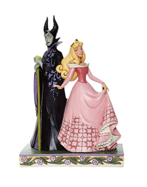 Jim Shore Disney Tradition - Aurora and Maleficent