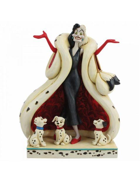 Jim Shore Disney Tradition - Cruella and Puppies
