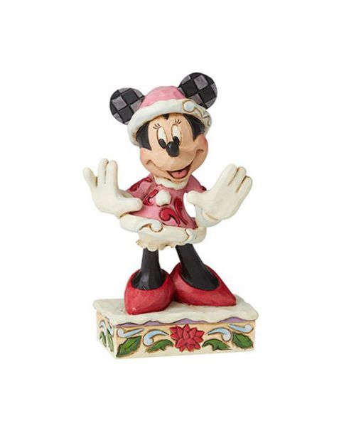 Jim Shore Disney Tradition - Minnie Christmas