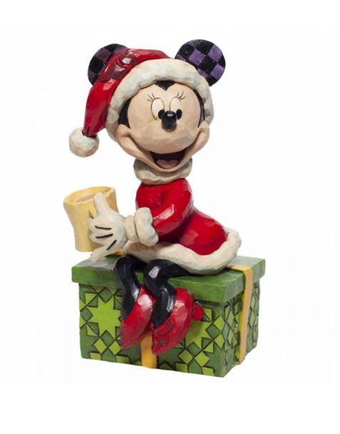 Jim Shore Disney Tradition - Minnie Mouse with Hot Chocolate