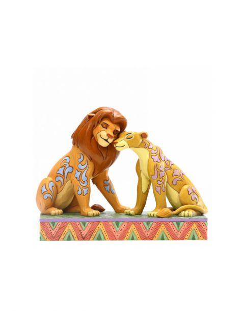Jim Shore Disney Tradition The Lion King - Simba & Nala