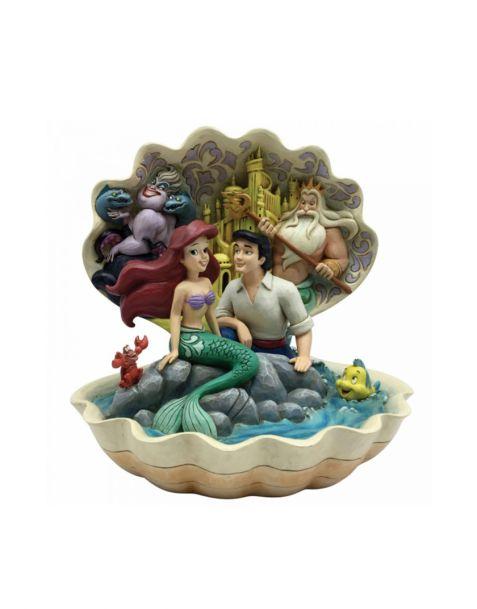 Jim Shore Disney Tradition - The Little Mermaid Shell Scene