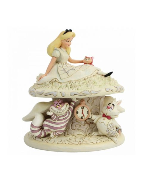 Jim Shore Disney Tradition Whimsy and Wonder - Alice in Wonderland