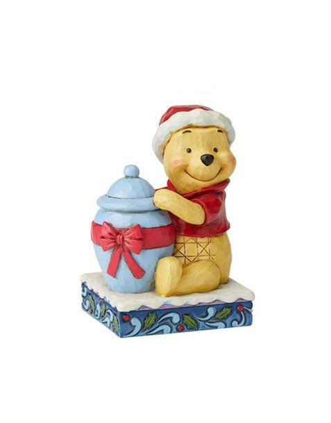 Jim Shore Disney Tradition - Winnie The Pooh Christmas