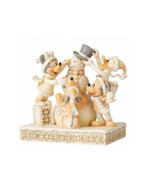 Jim Shore Disney Tradition - White Woodland Fab 5